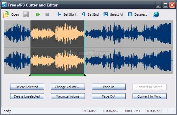 Free MP3 Cutter and Editor 2