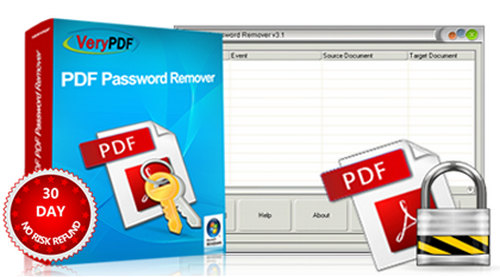 VeryPDF PDF Password Remover 5