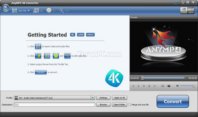 AnyMP4 4K Converter Full Version