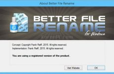Better File Rename 6.14 Free Download [Latest]