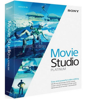 MAGIX VEGAS Movie Studio Platinum 15.0 Full