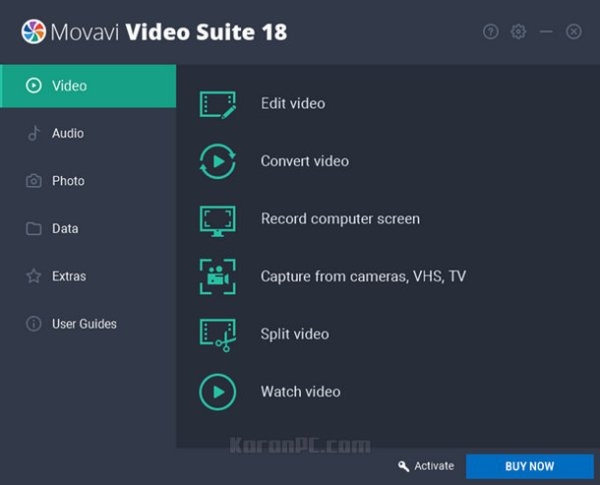 movavi video suite activation