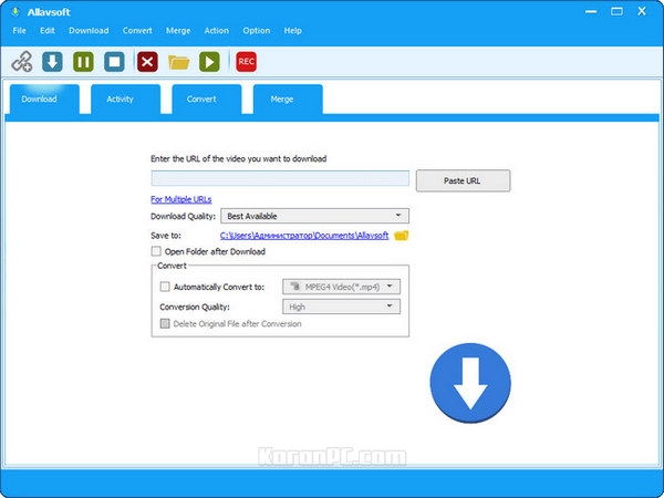 Allavsoft Video Downloader Converter Full key