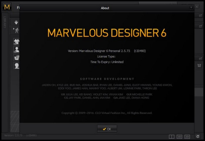 Marvelous Designer 2.5.73.20490