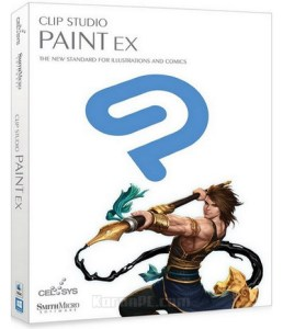 Clip Studio Paint EX Free Download with Materials