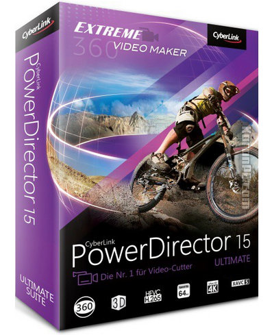 CyberLink PowerDirector Ultimate 15