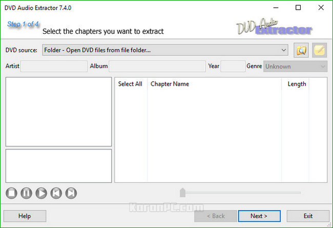 DVD Audio Extractor 7.4.0