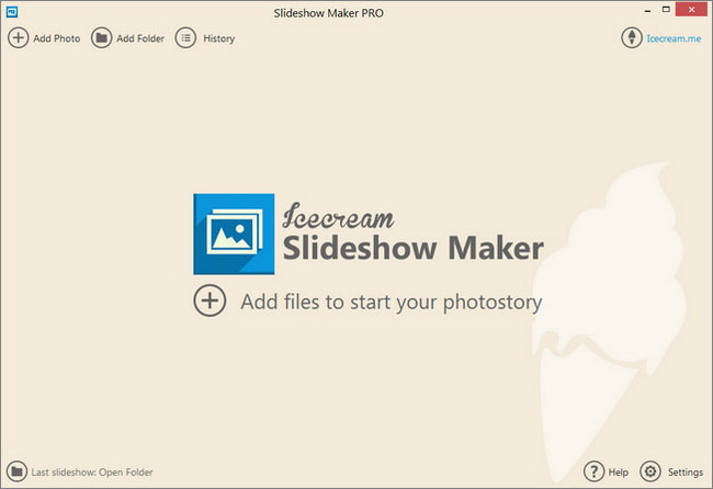 Icecream Slideshow Maker 2