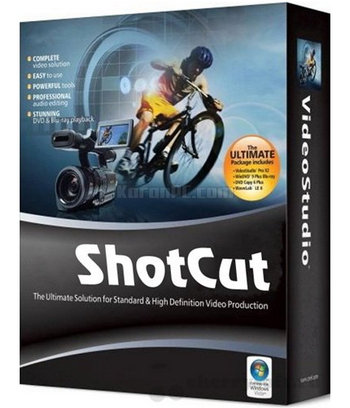 Download ShotCut Softeware for PC