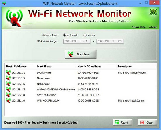 WiFi Network Monitor 4 0 + Portable [Latest] - Karan PC