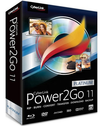 CyberLink Power2Go Platinum 11.0.2330.0 [Latest]