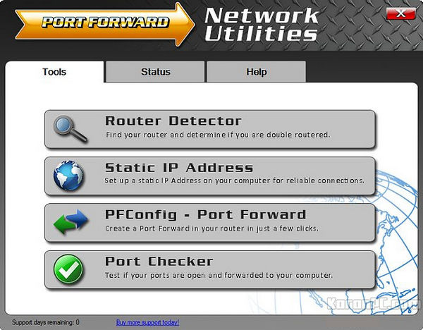 PortForward Network Utilities