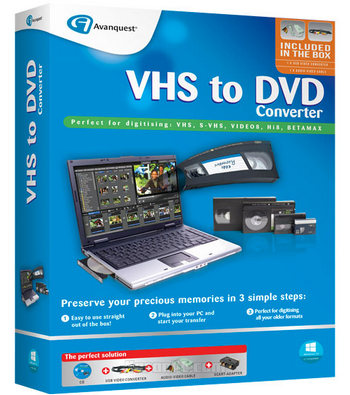 Avanquest VHS to DVD Converter