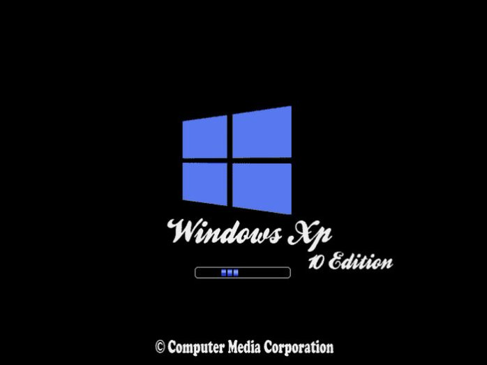 Windows XP Professional SP3 10 Edition 2017