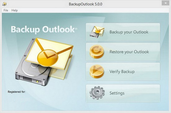 BackupOutlook