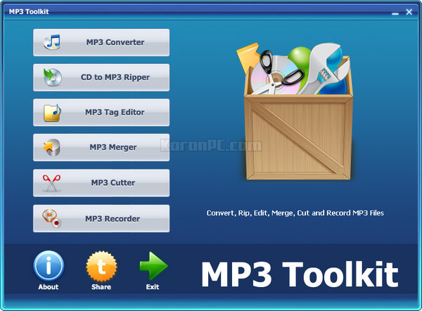Download MP3 Toolkit Full