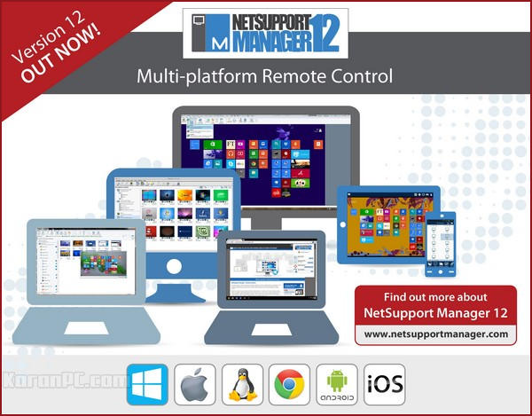 NetSupport Manager Remote Control 12