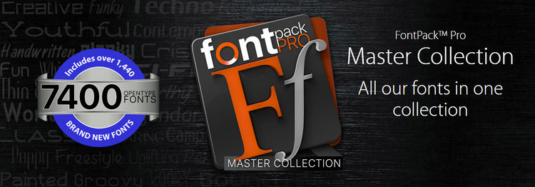 Summitsoft FontPack Pro Master Collection 2015