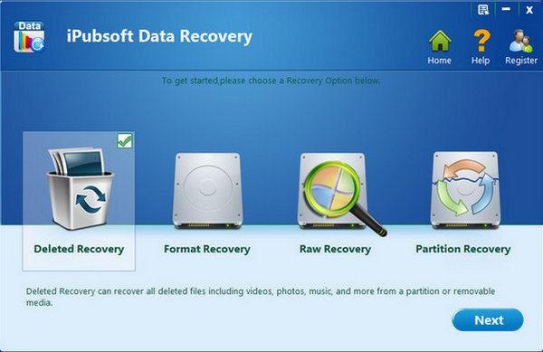 iPubsoft Data Recovery