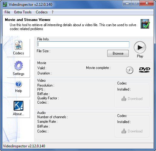 KC Softwares VideoInspector 2.12.0