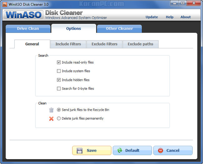 WinASO Disk Cleaner 3