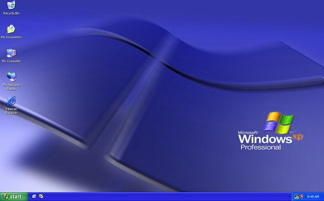 Windows XP Professional SP3 ENG with post SP3 Updates VHD