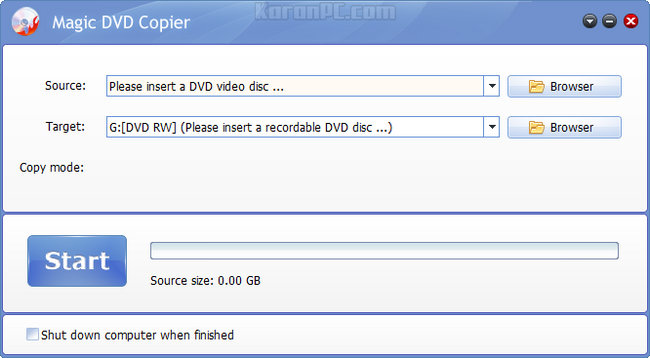 Magic DVD Copier 9