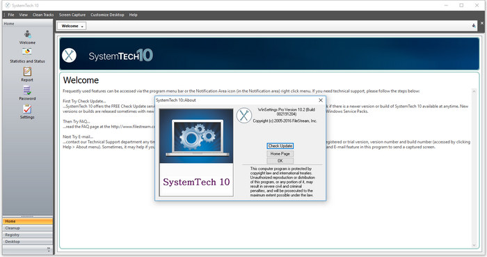 SystemTech Pro 10
