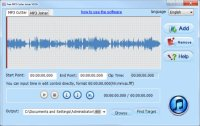 Free MP3 Cutter Joiner 10
