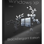Windows XP BlackElegant Edition 2017 ISO Free Download