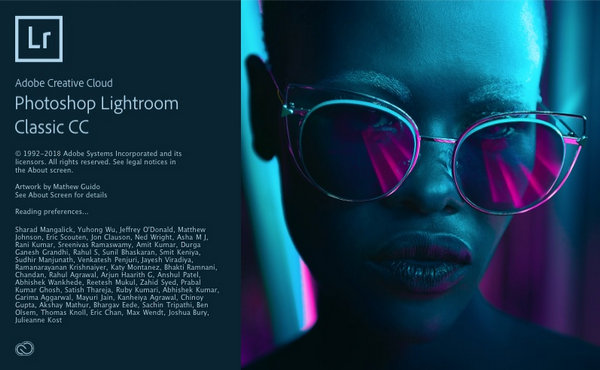 Adobe Photoshop Lightroom Classic CC 2018 Mac