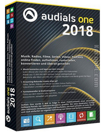 Audials One 2018 Full Version