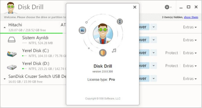 Disk Drill 2.0.0.300
