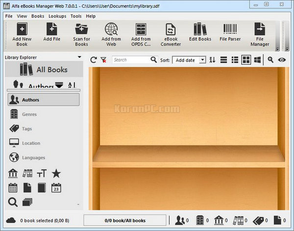 Alfa eBooks Manager Web 7