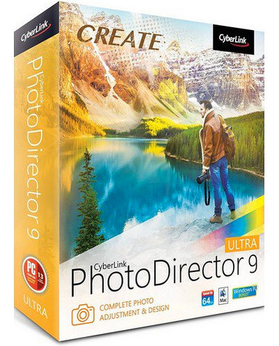 CyberLink PhotoDirector Ultra 9.0.2607.0 [Mới nhất]