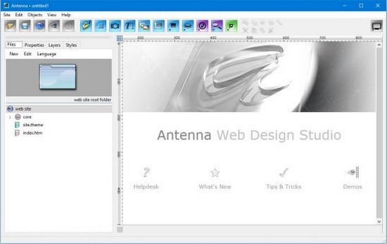 Antenna Web Design Studio Full Version