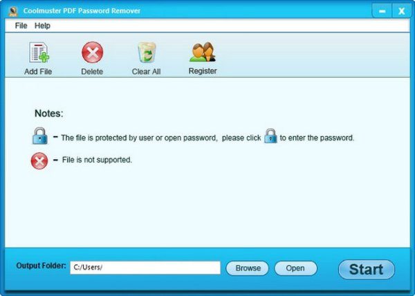 Coolmuster PDF Password Remover full