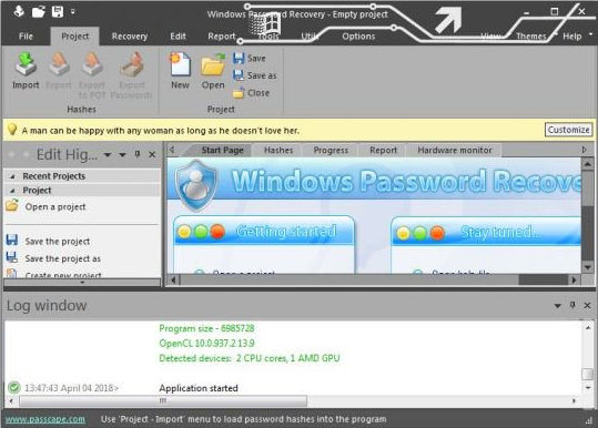 Passcape Windows Password Recovery full