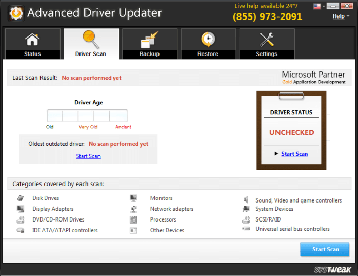 Advanced Driver Updater 4 5 1086 17935 Free Download - Karan PC