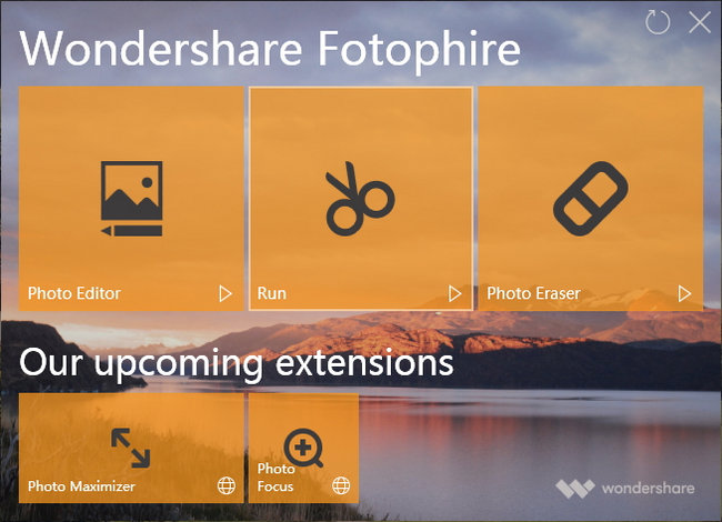 wondershare fotophire license key