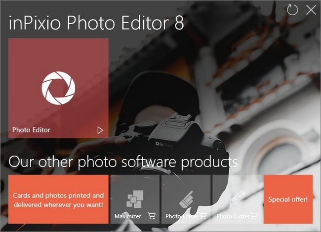InPixio Photo Editor 8 Full Version