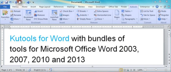 Kutools for Microsoft Word Full Version