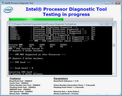 Intel Processor Diagnostic Tool 4.1.0.27 [Latest]