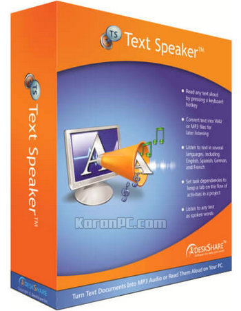 Text Speaker 3.26 Free Download + Portable