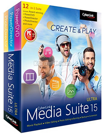 CyberLink Media Suite Ultra 15.0.1714.0 [Latest]