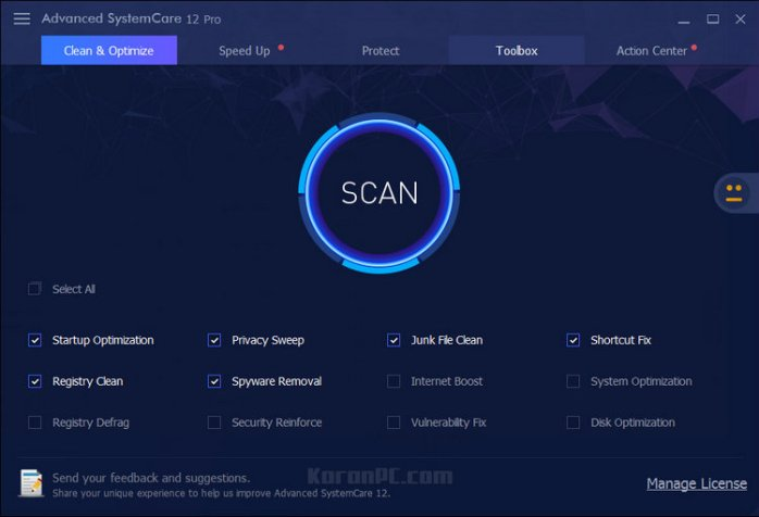 Advanced SystemCare Pro 12 Full Download