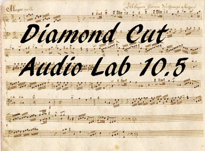 Download Diamond Cut Audio Restoration Tools Free
