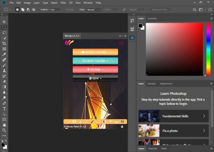 photoshop filters free download for mac