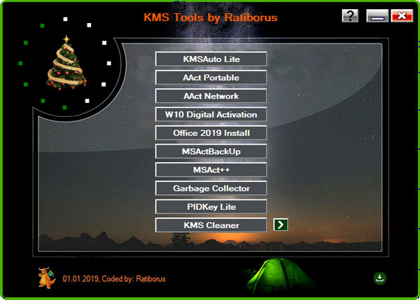 Download Ratiborus KMS Tools 2019 Free