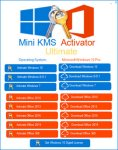 Mini KMS Activator Ultimate 2.4 Free Download
